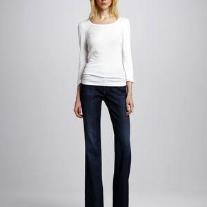 AG curvy bootcut jeans